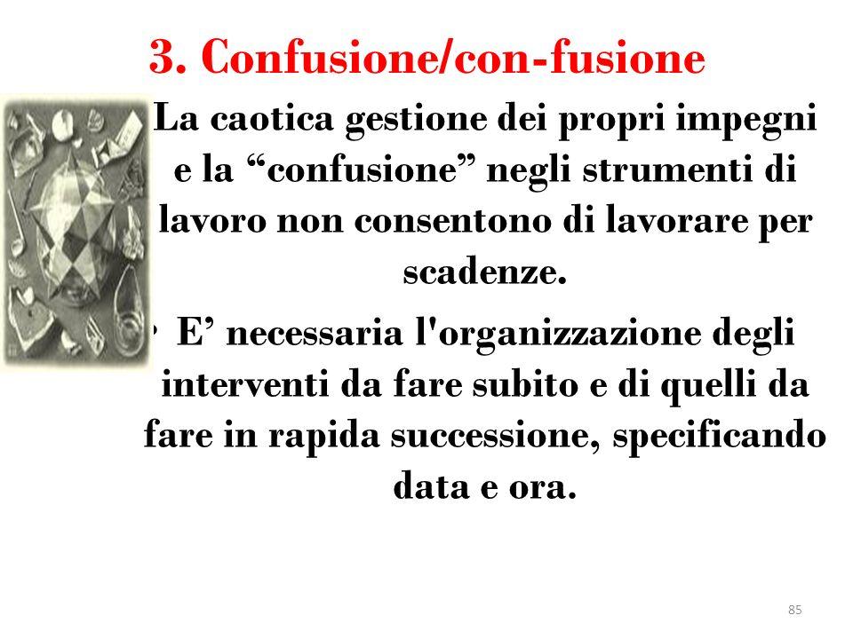 3. Confusione/con-fusione