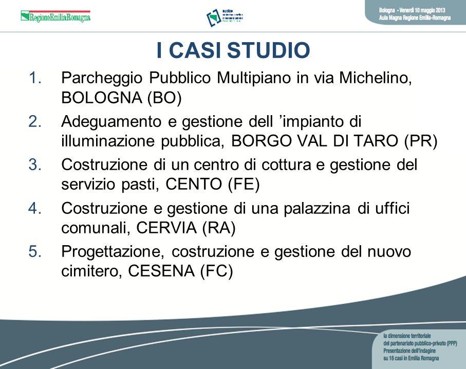I CASI STUDIOParcheggio Pubblico Multipiano in via Michelino, BOLOGNA (BO)