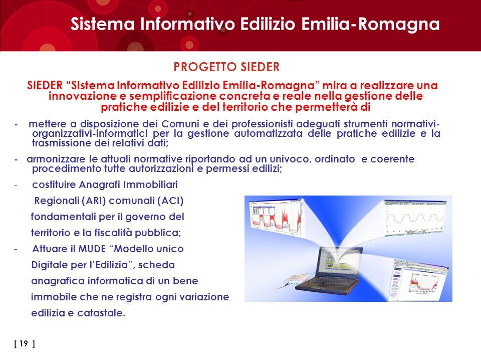 Sistema Informativo Edilizio Emilia-Romagna