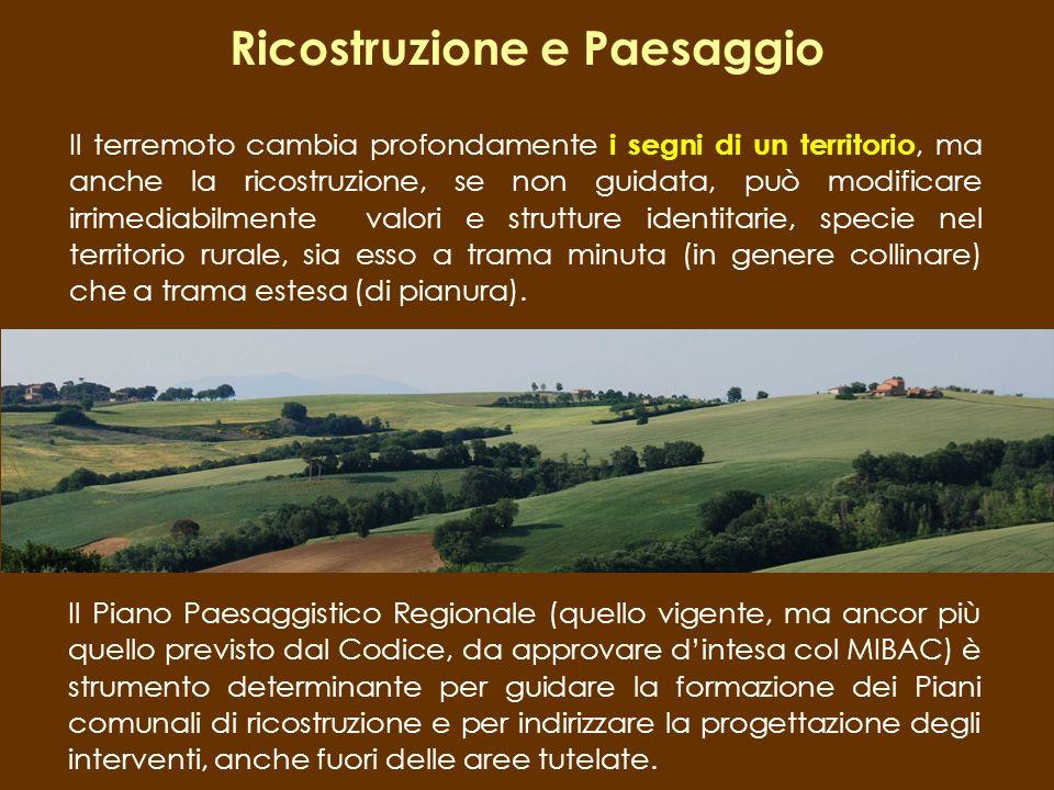 Ricostruzione e Paesaggio