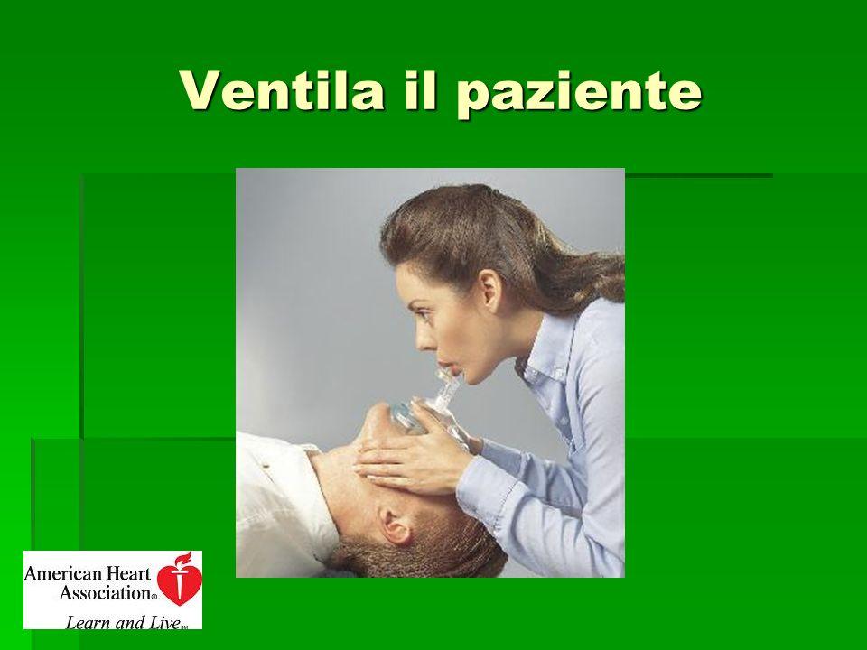 Ventila il paziente