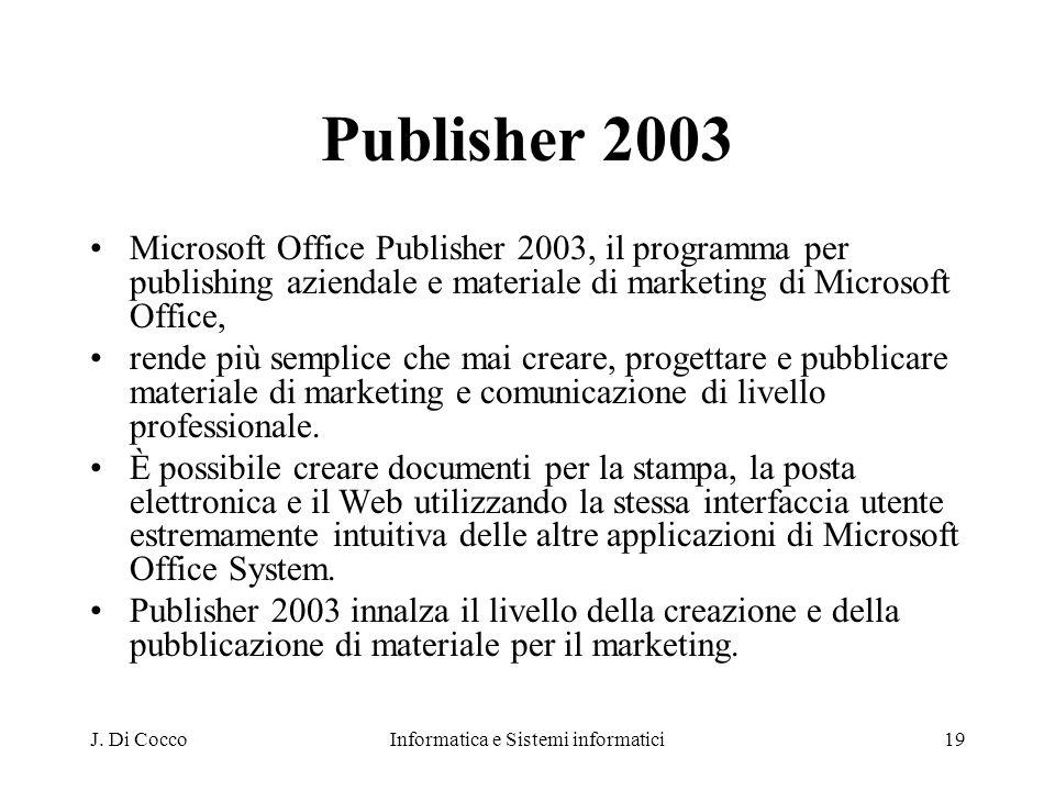 Informatica e Sistemi informatici