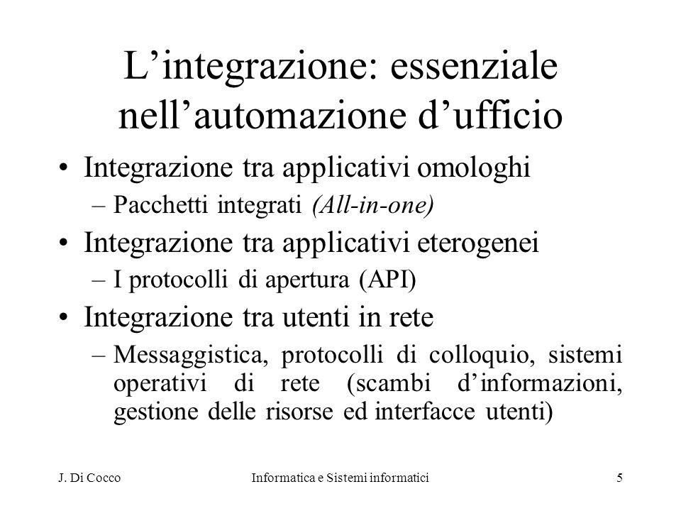 L'integrazione: essenziale nell'automazione d'ufficio