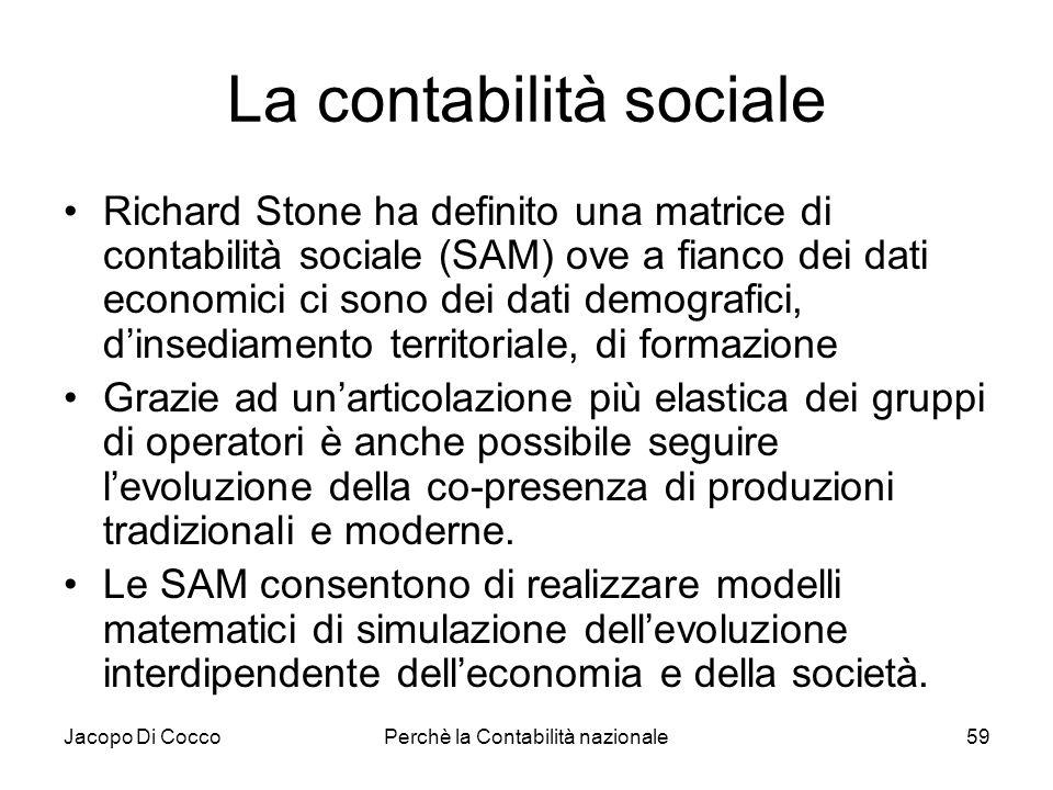 La contabilità sociale