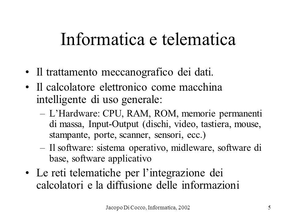 Informatica e telematica