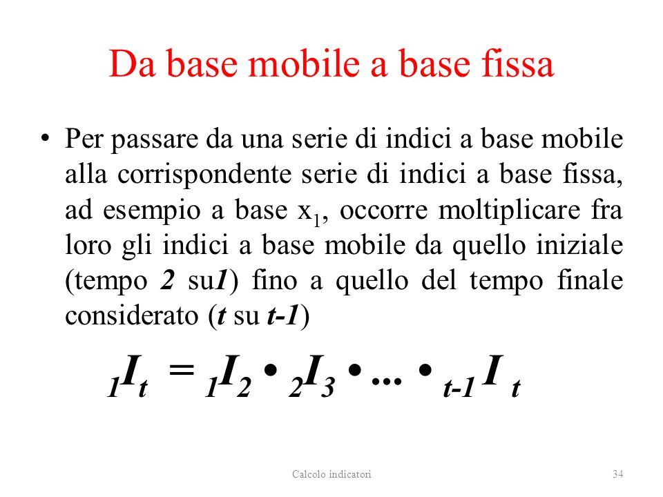 Da base mobile a base fissa