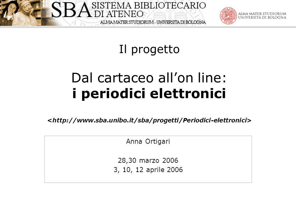 Anna Ortigari 28,30 marzo 2006 3, 10, 12 aprile 2006