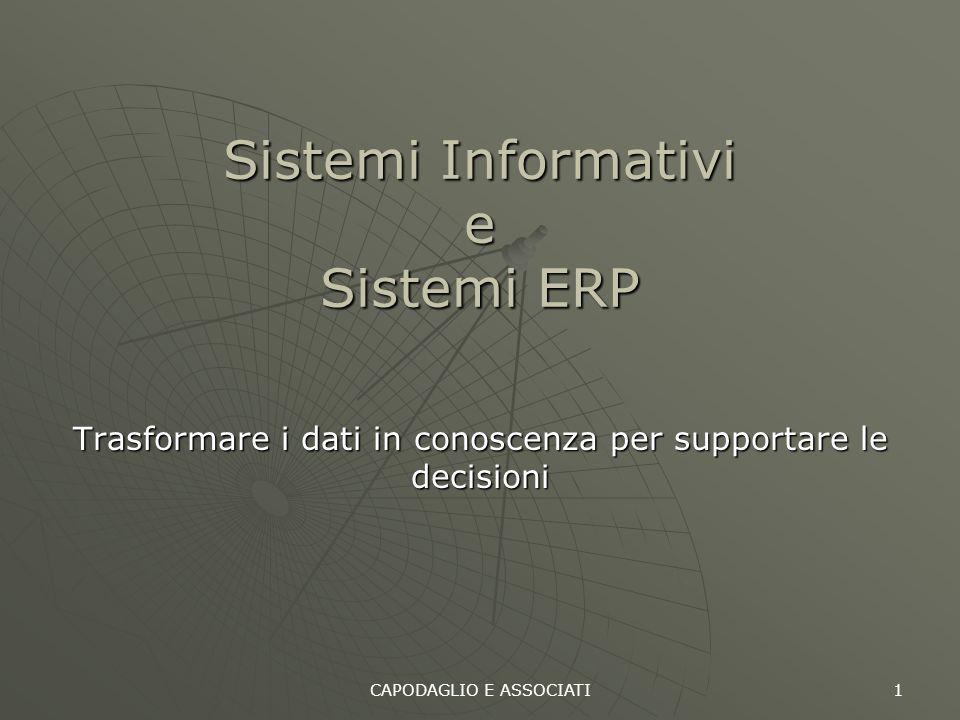 Sistemi Informativi e Sistemi ERP