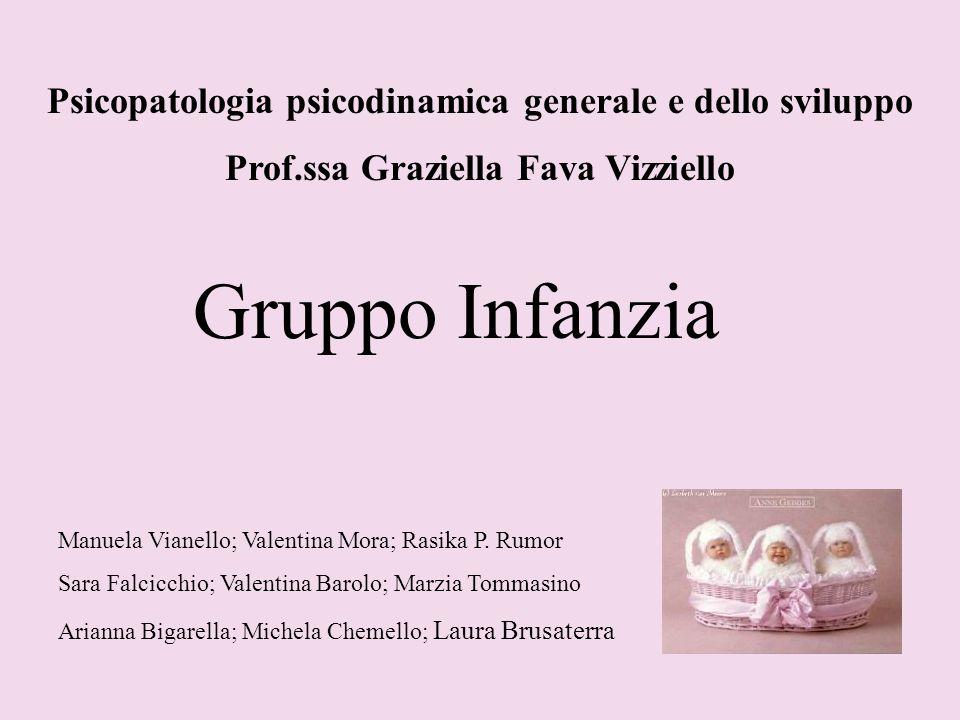 Gruppo Infanzia Psicopatologia psicodinamica generale e dello sviluppo