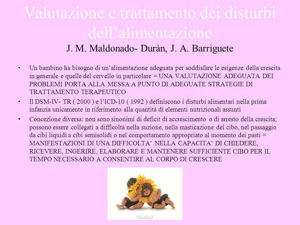 Valutazione e trattamento dei disturbi dell'alimentazione J. M
