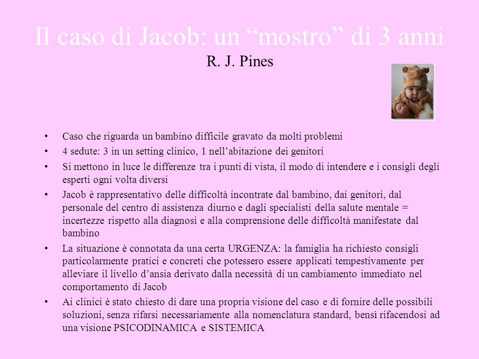 Il caso di Jacob: un mostro di 3 anni R. J. Pines