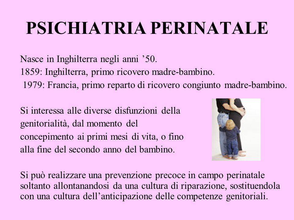 PSICHIATRIA PERINATALE