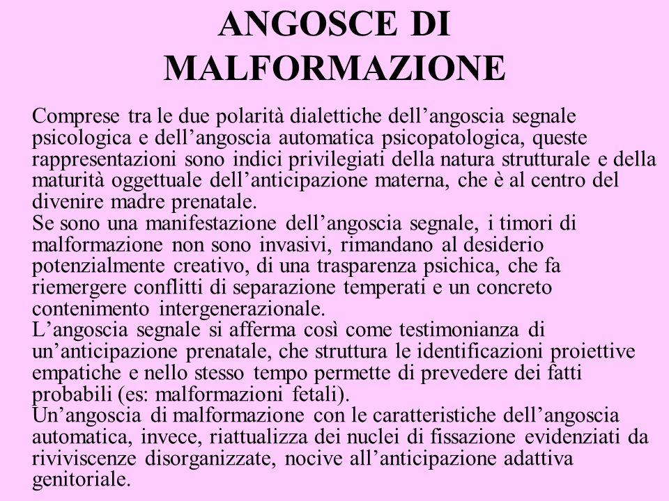 ANGOSCE DI MALFORMAZIONE