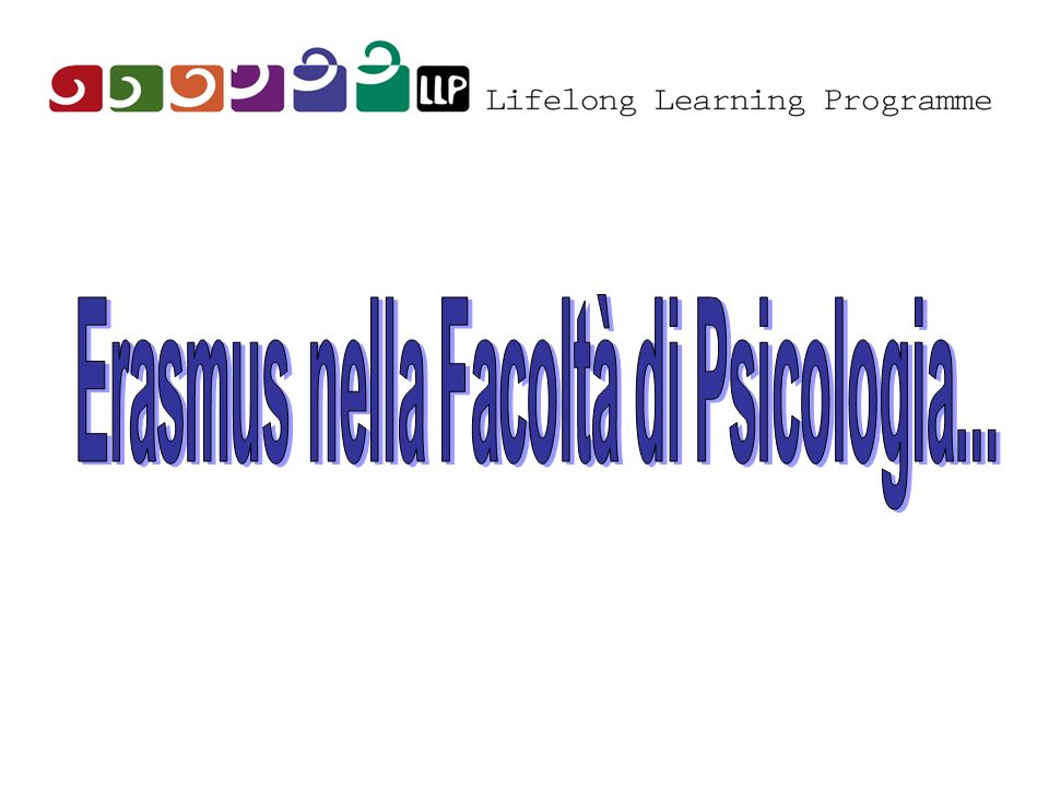 Erasmus nella Facoltà di Psicologia...