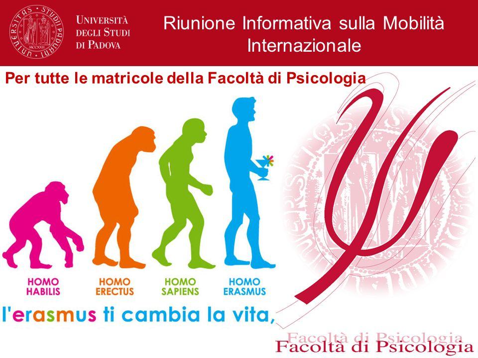 Riunione Informativa sulla Mobilità Internazionale