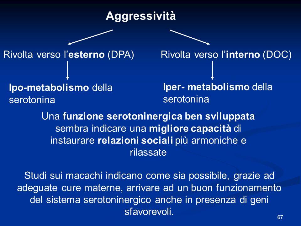 Aggressività Rivolta verso l'esterno (DPA)
