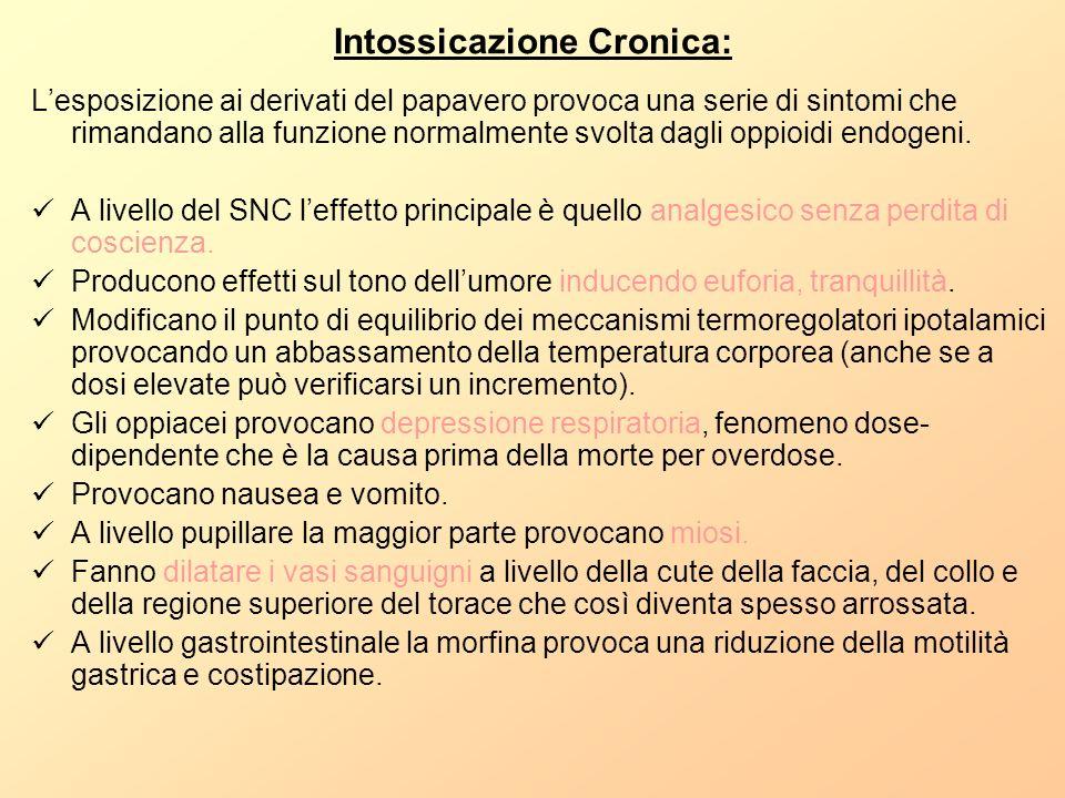 Intossicazione Cronica: