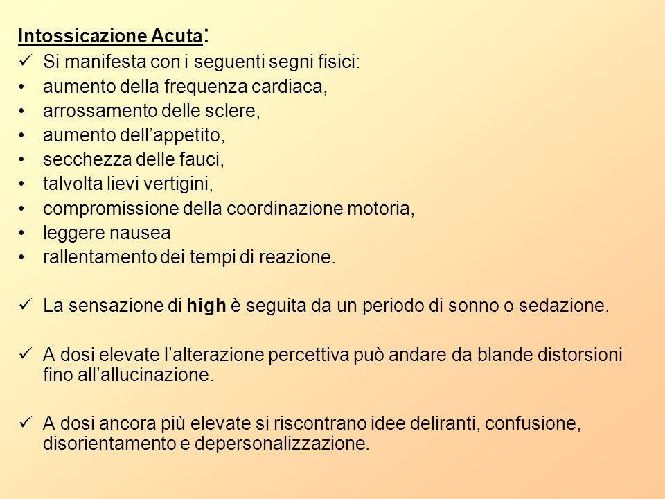 Intossicazione Acuta: