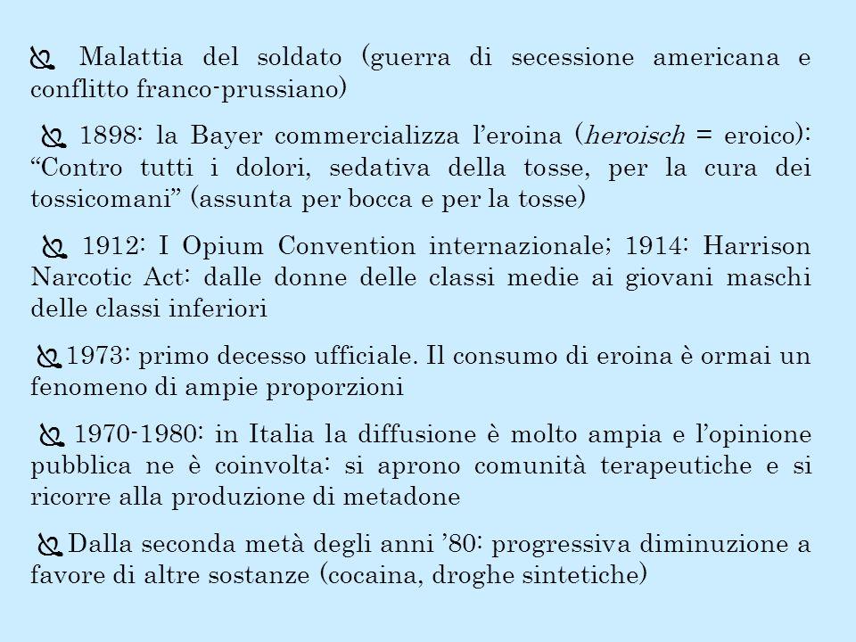 Ï Malattia del soldato (guerra di secessione americana e conflitto franco-prussiano)