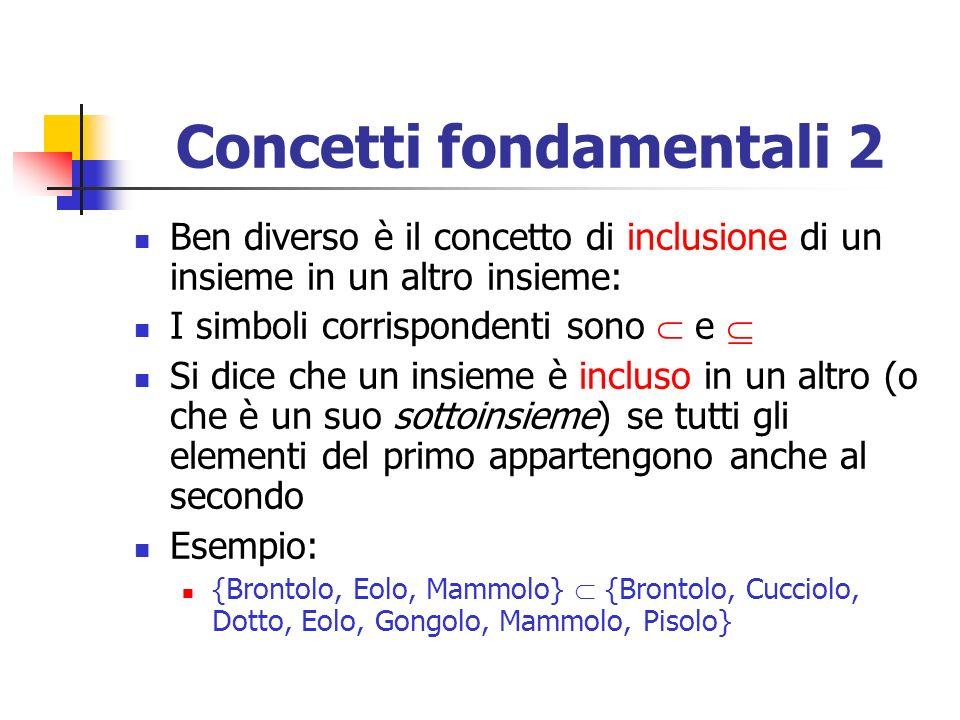 Concetti fondamentali 2