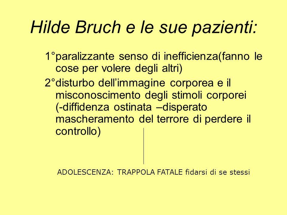 Hilde Bruch e le sue pazienti: