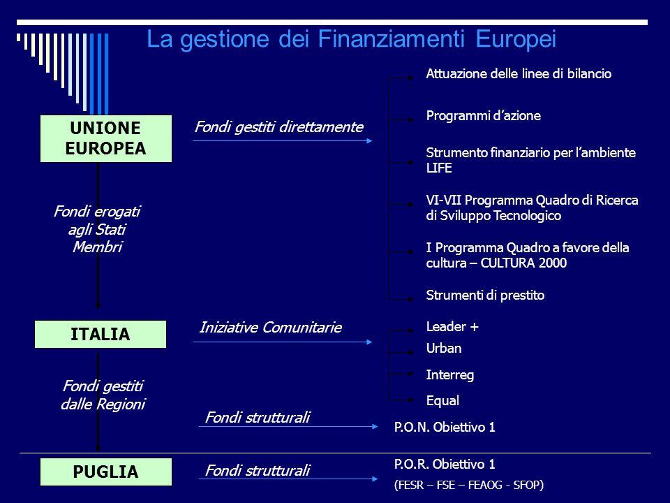 La gestione dei Finanziamenti Europei