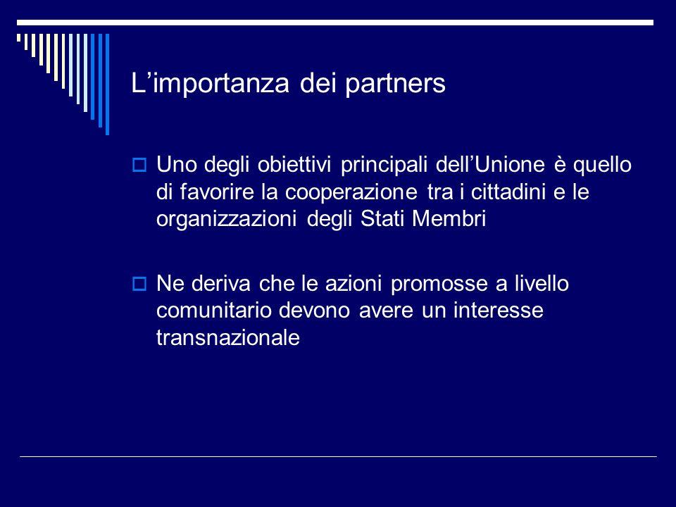 L'importanza dei partners