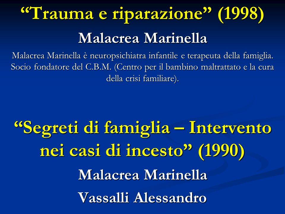 Trauma e riparazione (1998)