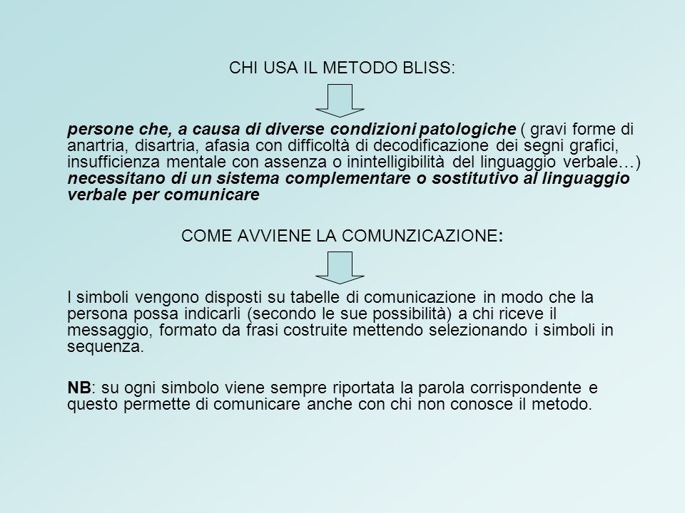 CHI USA IL METODO BLISS: