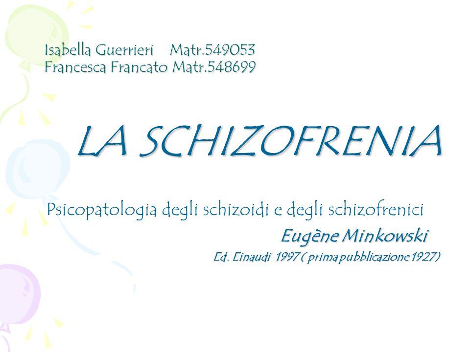 Isabella Guerrieri Matr.549053 Francesca Francato Matr.548699