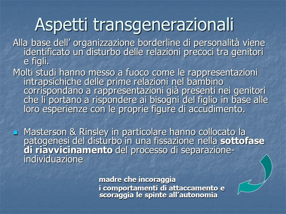 Aspetti transgenerazionali