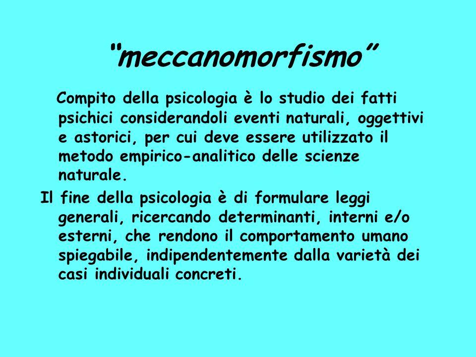 meccanomorfismo