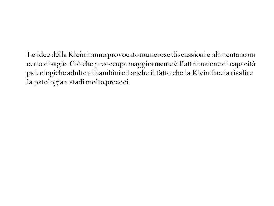 Le idee della Klein hanno provocato numerose discussioni e alimentano un certo disagio.