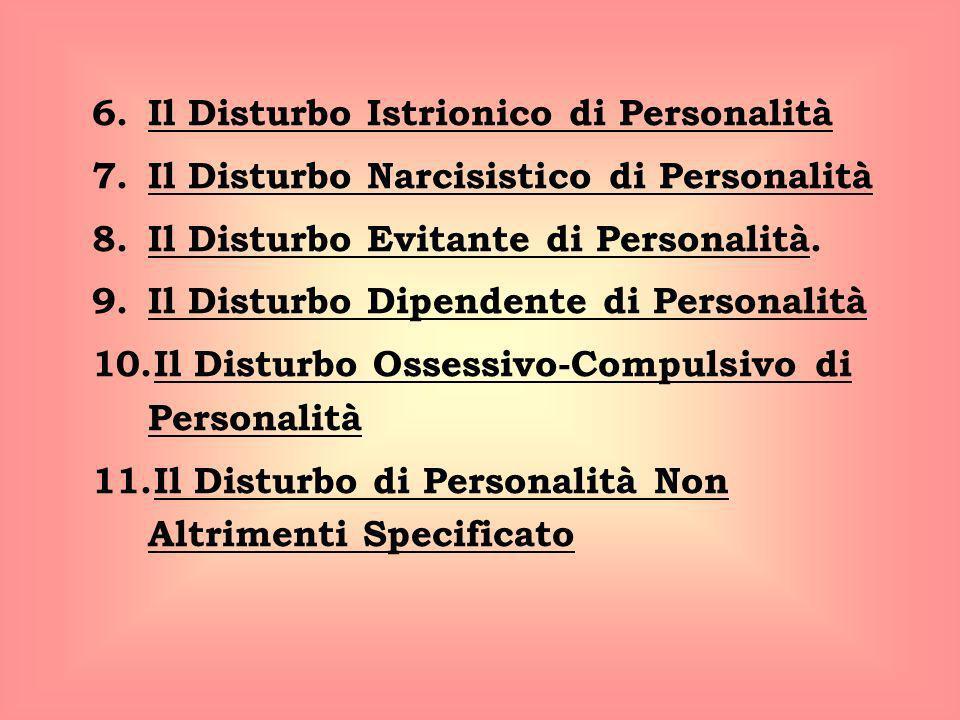 Il Disturbo Istrionico di Personalità
