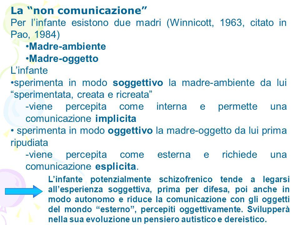 La non comunicazione
