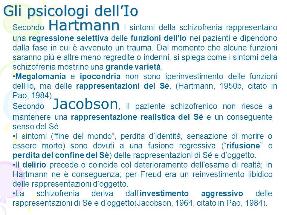 Gli psicologi dell'Io