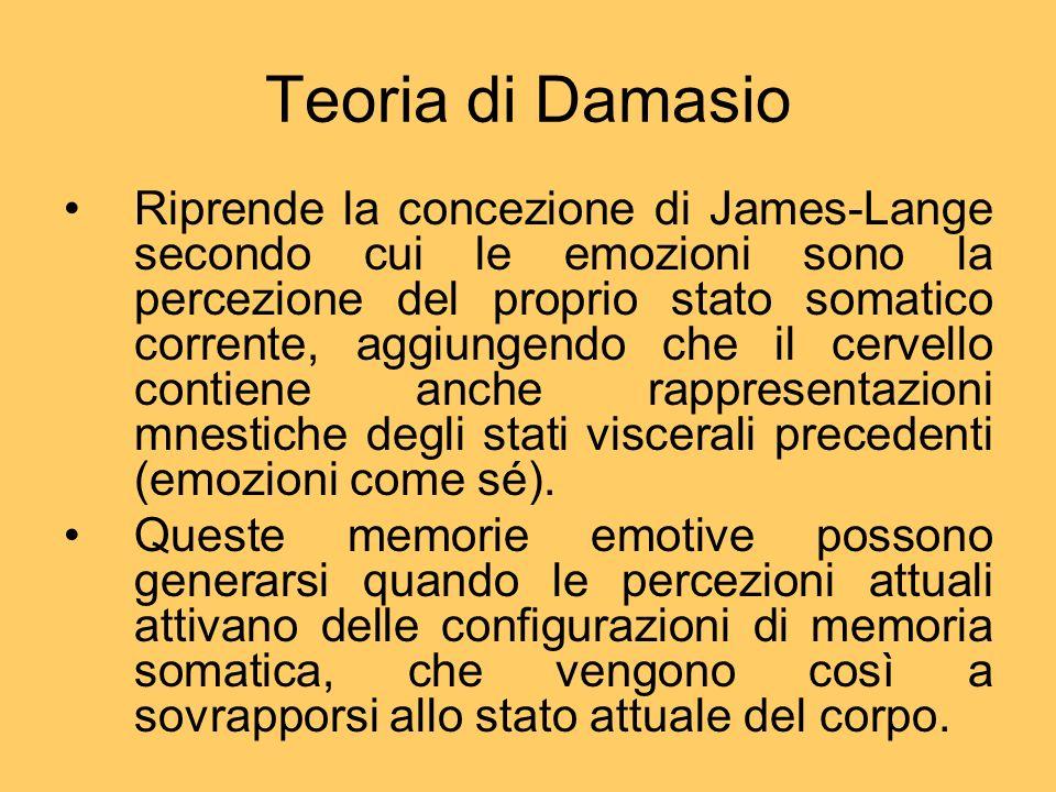 Teoria di Damasio
