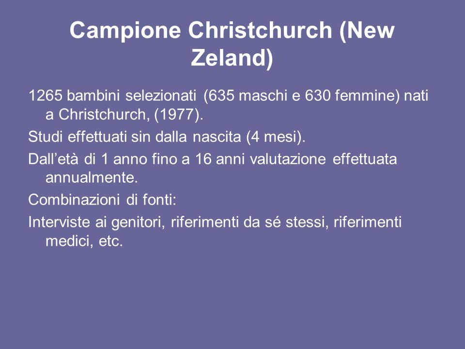 Campione Christchurch (New Zeland)
