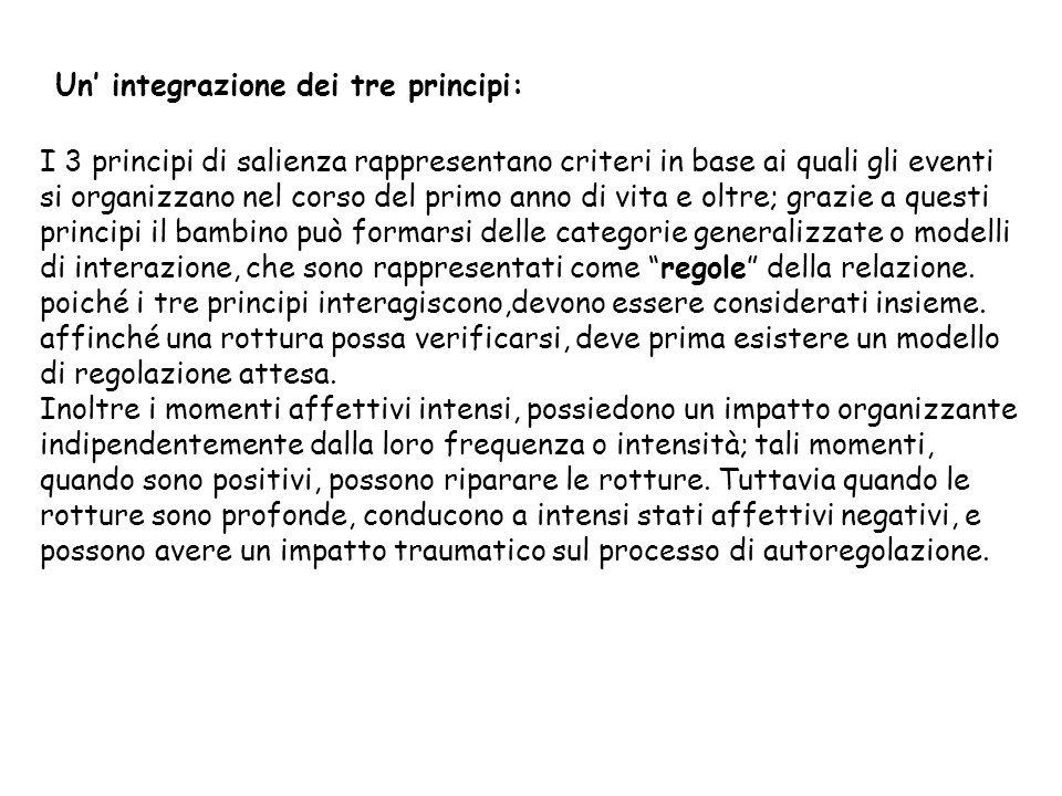 Un' integrazione dei tre principi: