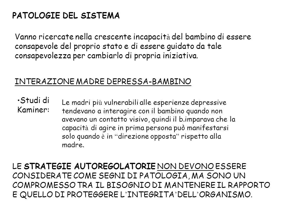 INTERAZIONE MADRE DEPRESSA-BAMBINO