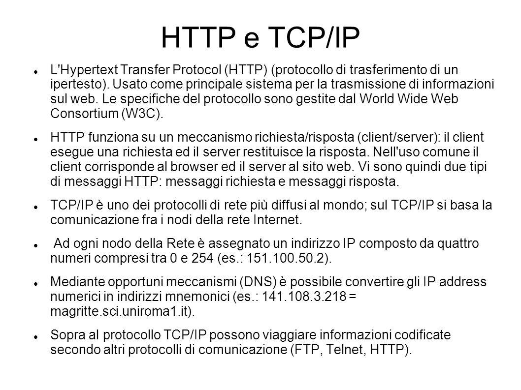 HTTP e TCP/IP