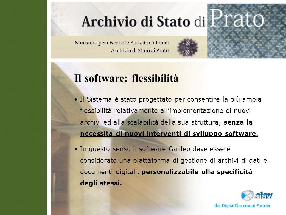 Il software: flessibilità