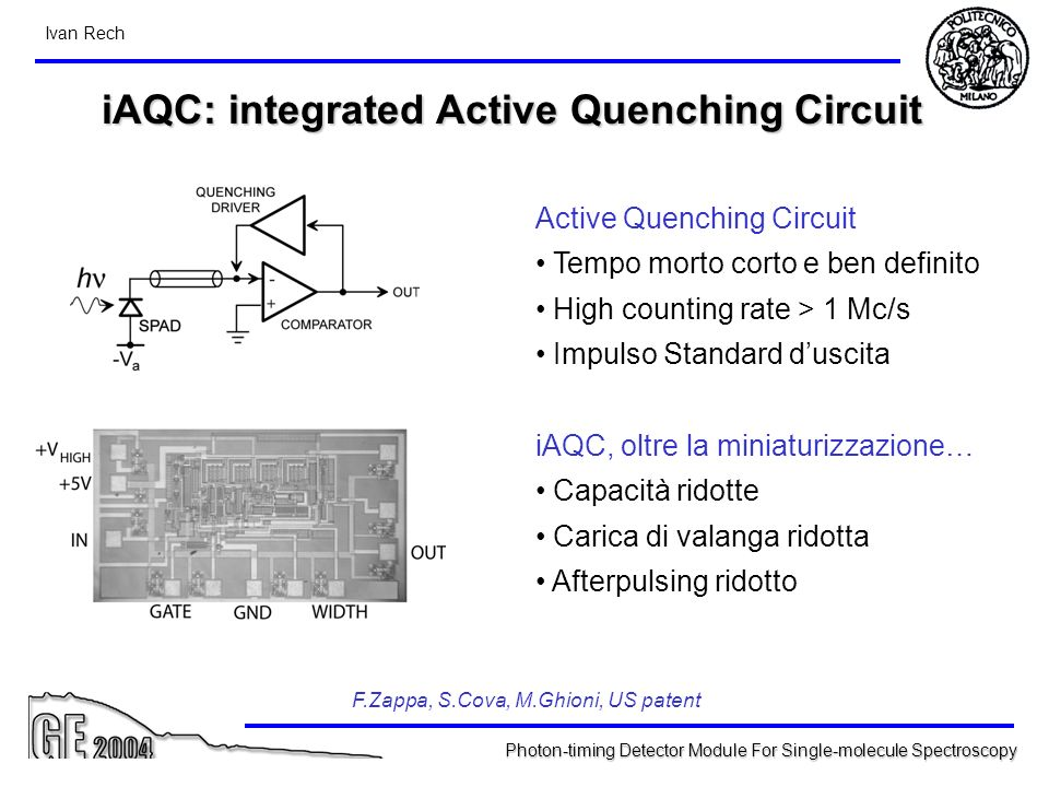 iAQC: integrated Active Quenching Circuit