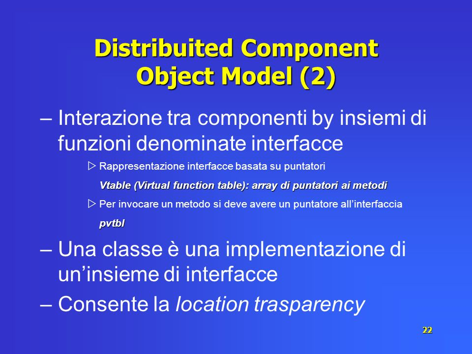 Distribuited Component Object Model (2)