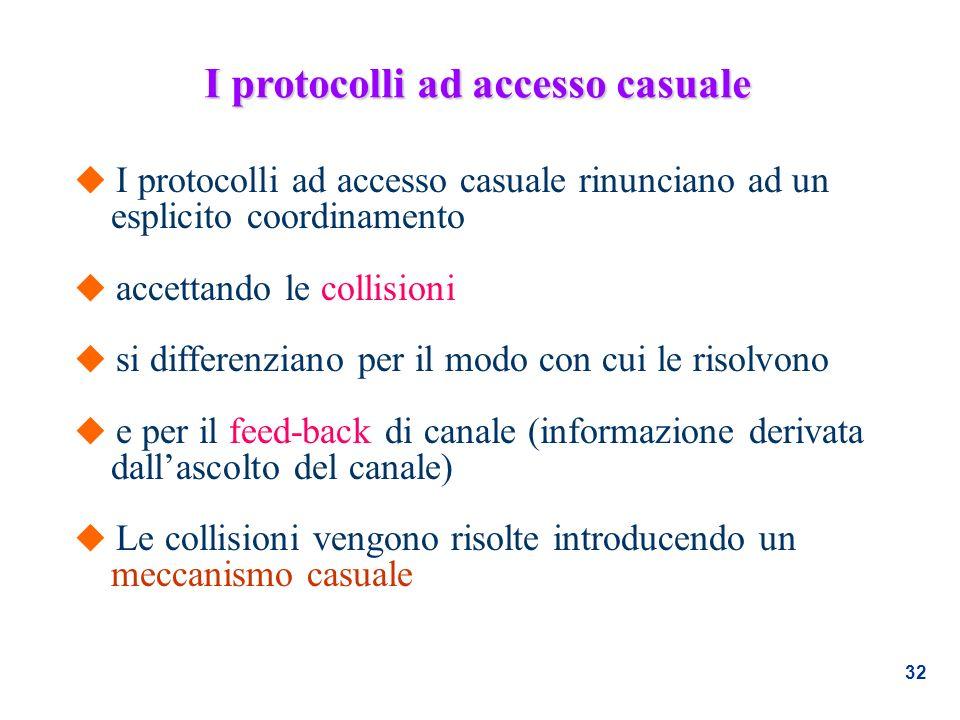 I protocolli ad accesso casuale