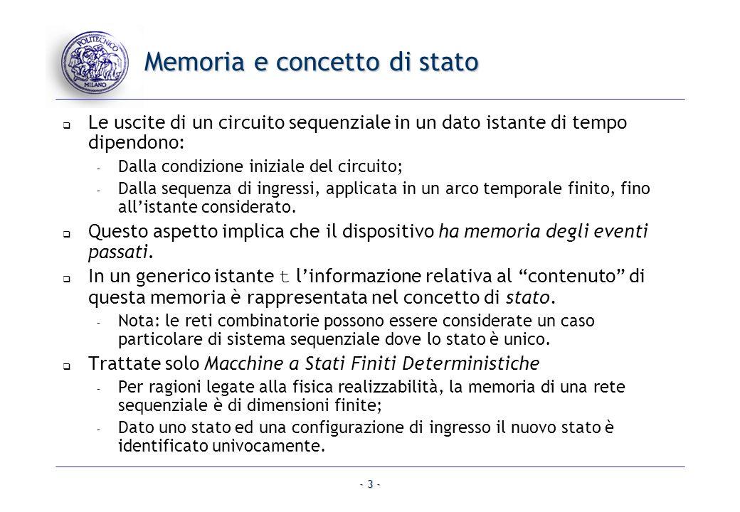 Memoria e concetto di stato