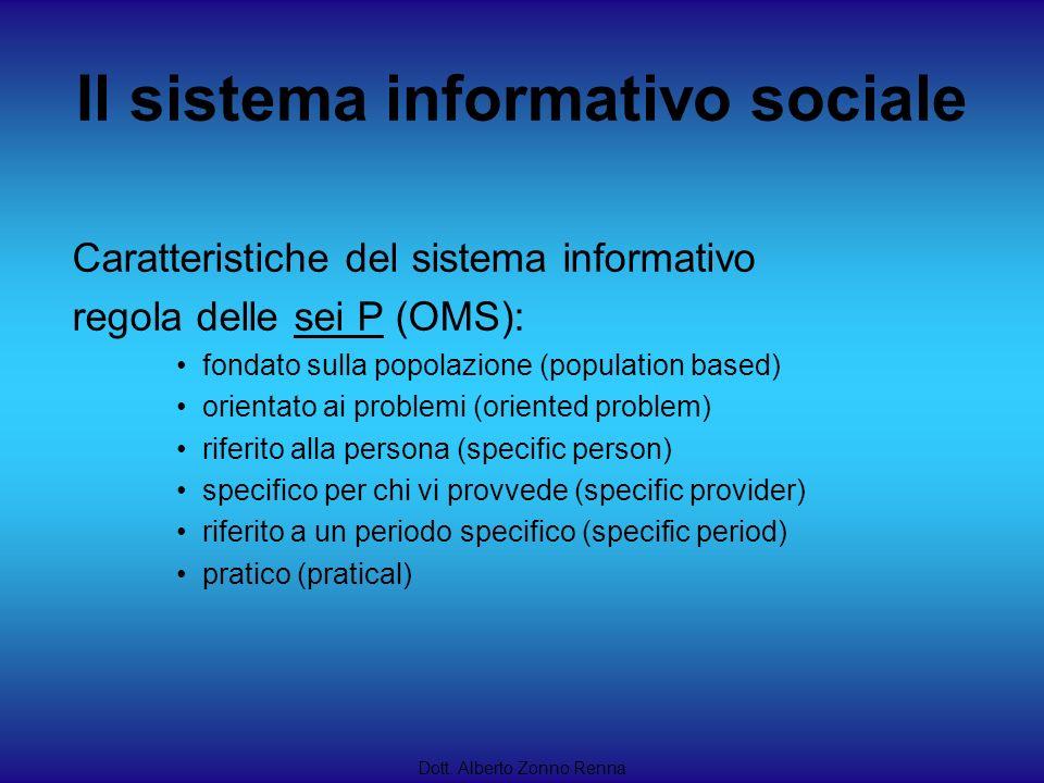 Il sistema informativo sociale