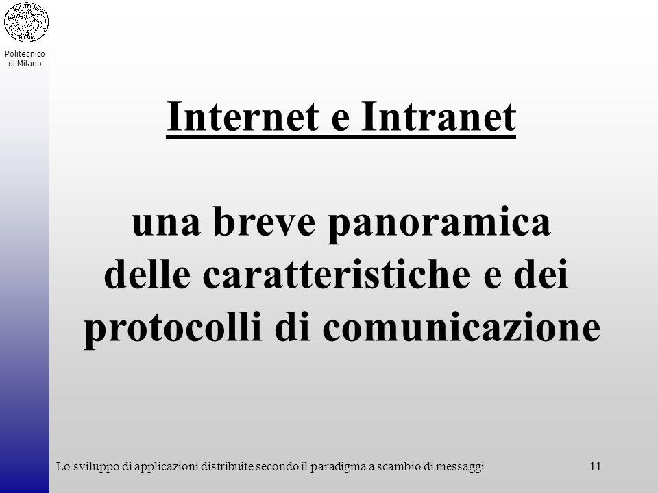 Internet e Intranet una breve panoramica