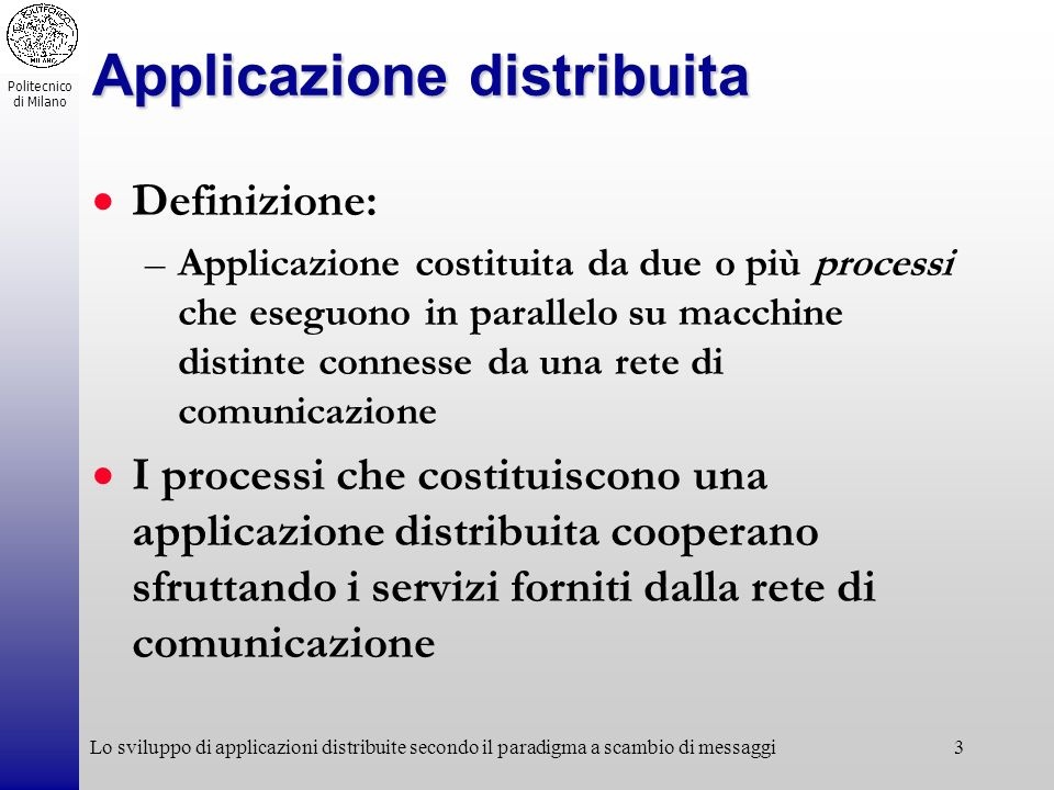 Applicazione distribuita