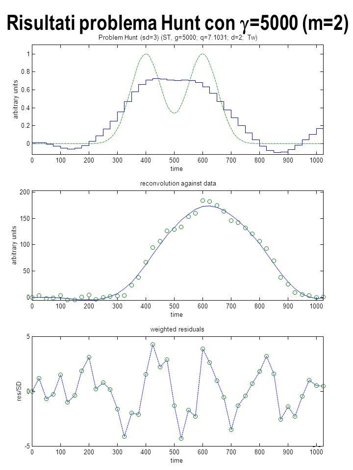 Risultati problema Hunt con g=5000 (m=2)